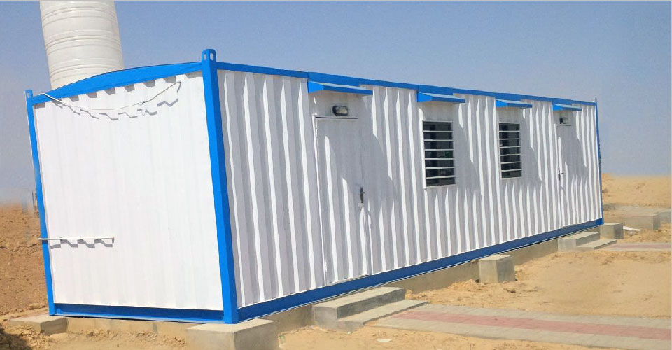Portable Cabins In Pakistan